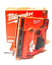 Milwaukee M12 3/8 in. Crown Stapler 2447-20 New (Tool Only)