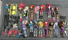 Monster High Dolls Bundle 16 Dolls Accessories And Stands