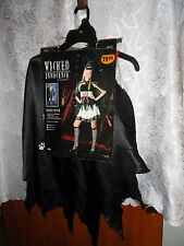 TEEN'S WICKED INNOCENCE HALLOWEEN COSTUME-SIZE JUNIOR 0-9-NEW WITH TAGS