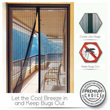 Summer Magic Mesh Screen Net Door With 26 magnets Anti Bug Mosquito Curtain