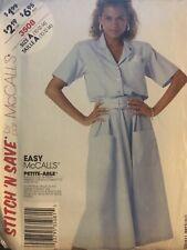 McCall's Stitch'n Save pattern 3508 Misses/Petite Dress & Belt sz 10,12,14 uncut