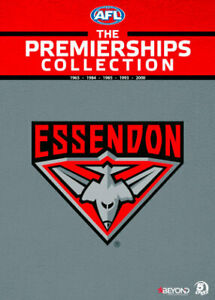 AFL THE PREMIERSHIPS COLLECTION: ESSENDON (1965/1984 /1985/ 1993 )  NEW DVD