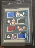 2018-19 Luka Doncic Trae Young Shai Sexton Rookie Quad Patch /99 RC PSA Ready