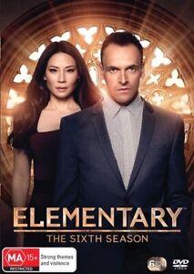 ELEMENTARY : Season 6 : NEW DVD
