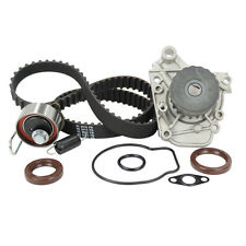 Engine Timing Belt Kit with Water Pump-DX, SOHC, Eng Code: D17A1, 16 Valves DNJ