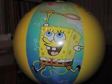 Wasserball von Wehncke SPONGEBOB inflatable Beach Ball 48cm flach