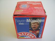 Panini: Bayern München Saison 2000 / 2001, Display mit 50 Tüten, rar !!!