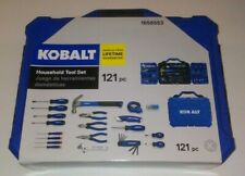 BRAND NEW! Kobalt 121 Pc Household Tool Set Hard Case FREE SHIPPING