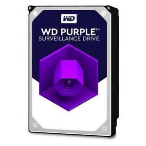 """WD Purple 4TB Surveillance HDD - 5400 RPM Class SATA 6 Gb/s 64MB 3.5"""" - WD40PURZ"""