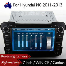 "7"" Car CD DVD Player Nav GPS Stereo Radio For Hyundai i40 2011-2013"