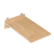 Wood Side Platform (Small) - Cage Shelf - Sugar Glider, Marmoset, Hamster, Bird