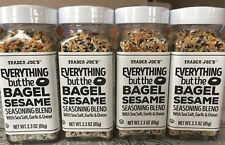 TRADER JOE'S EVERYTHING but the BAGEL SESAME SEASONING BLEND - 4 PACKS -