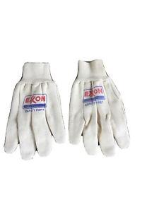 Exxon Safety First, 100% Cotton Gloves ,