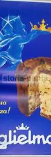 BELLA LOCANDINA PUBBLICITARIA_DOLCIARIA_PASTICCERIA_PANETTONE_GUGLIELMONE_RARITA