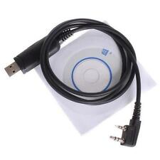 Cavo programmazione USB e software per CD per Baofeng UV-5R BF-888S Radios