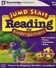 JumpStart Reading for Kindergartners (1996 MAC/PC CD-ROM) Llke New