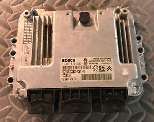 Calculateur moteur PEUGEOT 207 1.4 HDI 0281012523 EDC16C34 9664843480