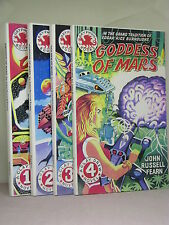 4 Clayton Drew Mars Novels (1 to 4) by John Russell Fearn, Gryphon Books, TPB