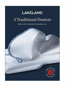 Dusters - Lakeland Traditional Heavy Duty Cotton Dusters 3 Pack