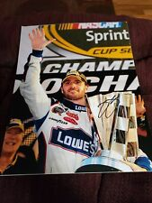 4 Jimmie Johnson 11x14 Signed Photos Nascar