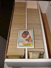 1981 Fleer Baseball singles-COMPLETE YOUR SETS-pick 50 cards