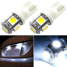 10Pcs White T10 5SMD 5050 White LED Car Light Wedge Lamp Bulbs Super Bright