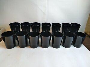 14 Vintage Black Glasses