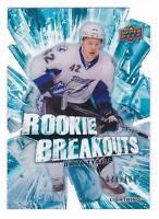 DANA TYRELL 2010-11 UPPER DECK ROOKIE BREAKOUTS #079/100
