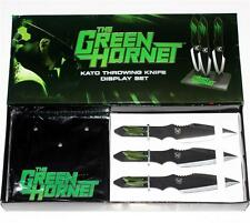 GREEN HORNET 2011 Superhero Movie Jay Chou KATO Licensed THROWING KNIFE SET New