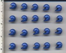 LEGO x 20 Blue Minifig, Headgear Helmet Standard NEW space helmet
