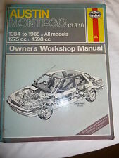 Austin Montego 1.3 and 1.6 - 1984 to 1996