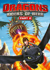 Dragons: Riders of Berk Part 2 (DVD, 2 Disc Set) SHIPS NEXT DAY Dreamworks