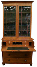 George III Secretary Bookcase | English 1810 Country Style antique
