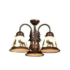 Yellowstone 3L Light Kit Burnished Bronze Fan Lighting Moose Tree LK55616BBZ-C