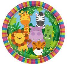Infantil Animal Amigos Celebración Cumpleaños Papel Fiesta Vajilla Platos
