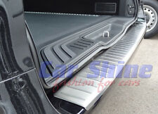 Mercedes W447 Vito BRUSHED STAINLESS STEEL REAR BUMPER PROTECTION SILL no logo