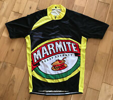 Marmite Funny Novelty Quirky Cycling Summer Jersey Size M - XXL (UK Seller)