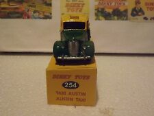 Dinky 254 / 40H - Austin Taxi - Yellow and green Boxed cheap little add on