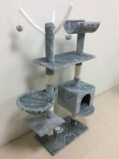 """Grey 153cm 60"""" Cat Tree Scratching Post Activity Centre Bed Toys Scratcher 2288"""