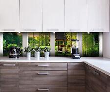 Küchenrückwand Fenster aussicht Nischenrückwand Spritzschutz