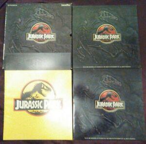 Jurassic Park 1992 Coffret Box Laserdisc Spielberg