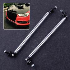2x 20cm Frontstoßstangen Lippen Splitter Stütze Stangen Support Rods Strut Bar