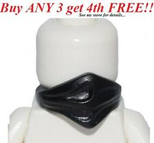 ☀️NEW Lego Minifig BLACK FACE SCARF Ninja/Cowboy/Bandit Minifigure Neck Bandana