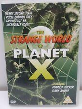 The Strange World Of Planet X (1957) uk region 2 DVD Forrest Tucker Sci Fi film