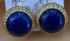 Vintage Christian Dior Rhinestone Clip Earrings