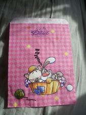 Depesche Diddl's Bibobl & Milimits Sleeping Basket Small Gift Bag -Collectable