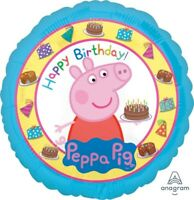 PEPPA PIG HAPPY BIRTHDAY FOIL BALLOON 45CM BIRTHDAY PARTY SUPPLIES