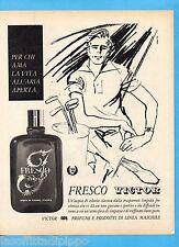 QUATTROR962-PUBBLICITA'/ADVERTISING-1962- VICTOR - FRESCO