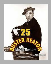 25 Buster Keaton Movie Posters, Paperback by Abby Books (Cor), Brand New, Fre.