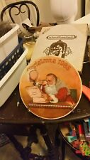 Norman Rockwell Christmas Plate 1985 Grandpa Plays Santa collector knowles Mib